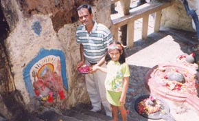 VU2FD with daughter nina at Diu